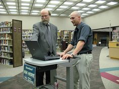 Mobile Service Point in Action Library Services, Rapid City, Action, Help Desk, Desks, Libraries, Education, History, Furniture