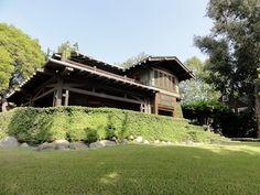 Duncan Irwin House by Greene and Greene (1906-8). Pasadena, California.