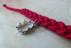 ASAB1: Braided Rope Charm Bracelet. $7.50, via Etsy.
