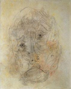 Unica Zürn-Portrait de H. Bellmer