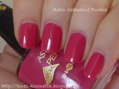 Astor Seductive Fushia Manicure Ideas, Nail Polishes, Hair And Nails
