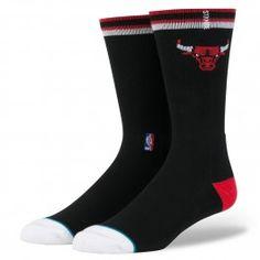 Chicago Bulls Arena Logo Socks (Black) Men s Socks 8298b434475