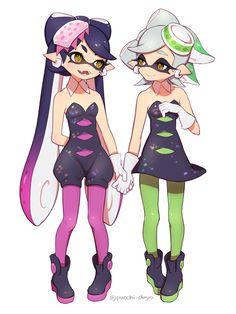 イカらくがき詰め #SquidSisters #Callie #Marie
