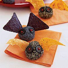 Halloween sweet truffles