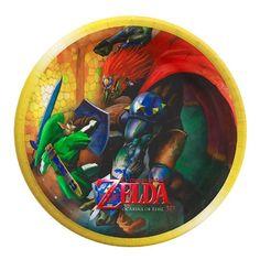 The Legend of Zelda Dessert Plates Party Destination