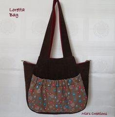Mia's Creations: Loretta Tassel Bag
