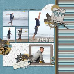 Sand Frisbee by amycjaz - Cards and Paper Crafts at Splitcoaststampers