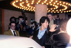 Sylvester Stallone at the premiere for his movie FIST (1978). Photo by Alan Light.