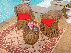 Royal Terrace Las Palmas Resin Wicker 3 Pc. Seating Group Is Great When You  Just · Resin Wicker FurnitureOutdoor ...