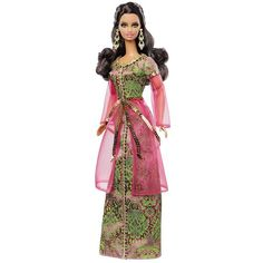 Barbie Collector Dolls Of The World Morocco Doll ❤ liked on Polyvore featuring barbie, toys and dolls