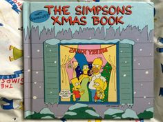 The Simpsons Xmas Book cover