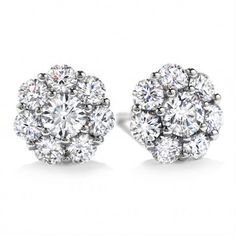 Beloved Stud Earrings Hfeblv01458w Diamondstudearrings Diamant Armband Crystal Women S