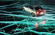 Entrevistamos os fotógrafos russos que clicaram o Chevrolet Cruze sobre o gelo