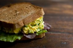 High Protein Recipes...  Egg Salad Sandwich Recipe