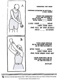 An Easy Guide To Outpatient Burn Rehabilitation (and PNF by the looks of it.)