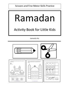 ILMA Education's EDUPARENTING: Free Download: Ramadan Activity Book for Little Kids