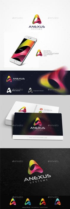 A Letter Logo — Photoshop PSD #technology #application • Available here → https://graphicriver.net/item/a-letter-logo/16314826?ref=pxcr
