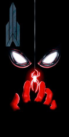 Check out this awesome collection of Dark Spiderman IPhone Wallpaper is the top choice wallpaper images for your desktop, smartphone, or tablet. Amazing Spiderman, Black Spiderman, Spiderman Spider, Deadpool Wallpaper, Avengers Wallpaper, Marvel Comic Universe, Marvel Art, Marvel Heroes, Captain Marvel