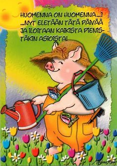 Helmiä elämäni ketjuun: Meillä on tämä hetki Funny Texts, Live Life, Finland, Winnie The Pooh, Good Morning, Illustrators, Cool Pictures, Disney Characters, Fictional Characters