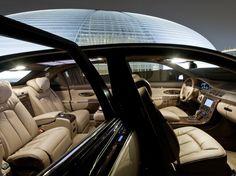 $8 Million Maybach Exelero Interior