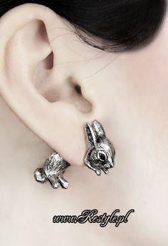 I want it! Bunny earrings