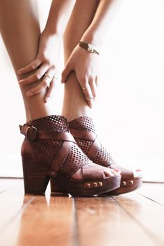 Free People Women's Rendering Crochet Clogs | Shoes and Footwear
