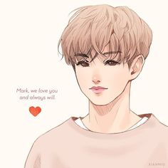 I just wish I could give him a hug. @mark_tuan - I'm planning on doing one for Bam Bam and Yugyeom also, either tonight or tomorrow. - Honestly this was just supposed to be a fun doodle but I saw some really negative comments today. This whole situation has made me really sad and angry. I'm disappointed in their so-called fans, who just dropped them on the spot, told them to leave the group, and even sent them death threats. Especially toward Bam Bam. When they left the U.S. all covered up…