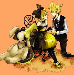 Rin and Len