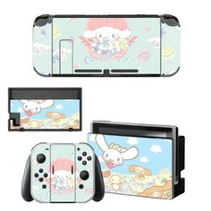 Cinnamoroll Vinyl Skin Nintend Switch Sticker Pegatinas for Nintendo Switch Full Set Faceplate Stickers Console Joy Con Dock - Aliexpress Nintendo Switch Package, Buy Nintendo Switch, Vinyl Style, Console Styling, Diy Buttons, Pvc Material, Switch Covers, Plastic Case, Vinyl Decals