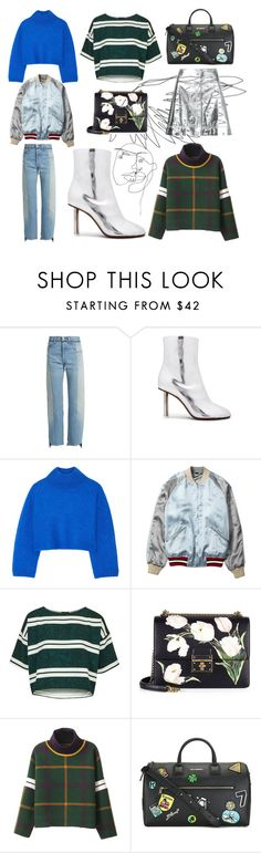 """""""Street Style Look 002"""" by sakkasusa ❤ liked on Polyvore featuring Vetements, Vika Gazinskaya, Gucci, Topshop, Dolce&Gabbana and Manning Cartell"""