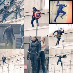 8 Brand NEW !!! BTS pics from Captain America: Civil War.