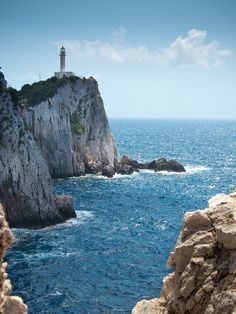 My family is from Lefkada, cannot wait to visit one day // Lefkada Lighthouse