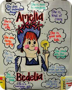 amelia bedelia character chart