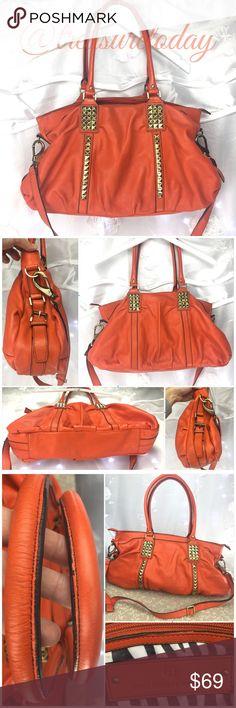 Selling this Fenn Wright Manson Large Studded Leather Handbag on Poshmark! My username is: treasuretoday. #shopmycloset #poshmark #fashion #shopping #style #forsale #Fenn Wright Manson #Handbags