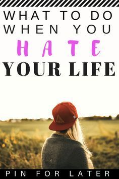 "I Hate My Life: How To Feel Better Fast I spent years of my life suffering from depression and thinking ""I hate my life"". Here are all the things I did to start feeling better. Depression Self Help, Depression Recovery, Coping With Depression, Overcoming Depression, Fighting Depression, How To Overcome Depression, Recovering From Depression, Psychology, Quotes"