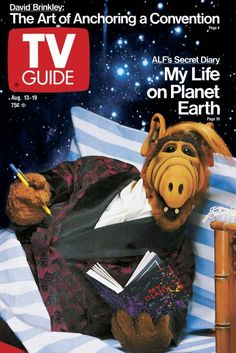 TV Guide August 13, 1988 - ALF of ALF.