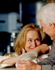 It's Complicated, the movie.  Meryl and Steve are the best!
