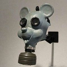 Children's gas mask from World War II.