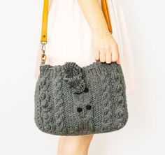 Make a handbag out of an old sweater