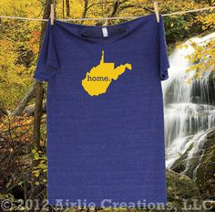West Virginia Home State t-shirt Special Edition by HomelandTees