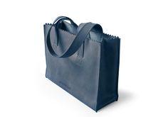 My Paper Bag Handbag Indigo - € 149,95
