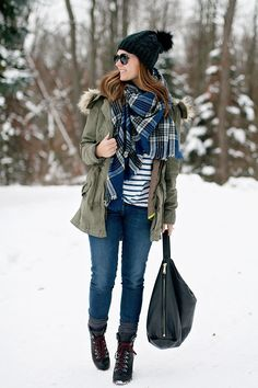 my everyday style: snowy day!