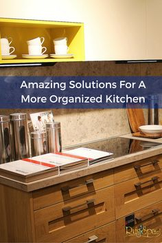 Amazing Solutions For A More Organized Kitchen | RugSpa