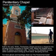 Penitentiary Chapel. This building served as a chapel for the growing convict population in Hobart... it also sevred the free people aswell which made for an interesting mix. Head to this link to learn more: http://www.theparanormalguide.com/blog/penitentiary-chapel