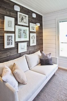 Searching for Living Room decor tips? Decor, Interior Design Living Room, Living Room Decor Tips, Wallpaper Living Room, Wall Behind Couch, Behind Couch, Wood Panel Walls, Interior Design, Room Decor