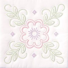 Jack Dempsey Stamped White Quilt Blocks xxx Floral Design at Joann.com Need 5 pkgs to make queen