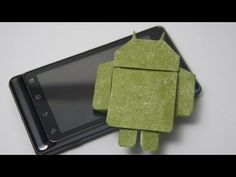 Origami Google Android (Gerwin Sturm) - http://www.thehowto.info/origami-google-android-gerwin-sturm/