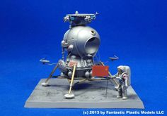 Soviet Lunar Lander Model. Their Lunar Program was Cancelled.