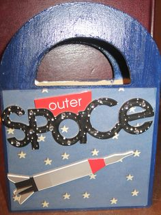Space Wooden Box...can be use for Astronomy Teacher's Gift  www.caguimbalcreations.weebly.com