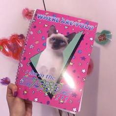 PECO CLUB vol.9からは、80年代のポスター風のキュートなリングノートも表紙だけじゃなくて中のページもかわいいよ! @pecoclub  #pecoclub #notebook #shop